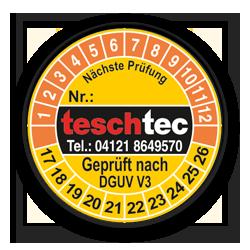TeschTec E-Check Logo